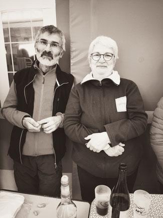 Cricri et Marie Lise (supportrice inconditionnelle)