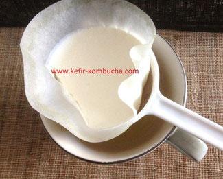 kefir de lait fromage frais