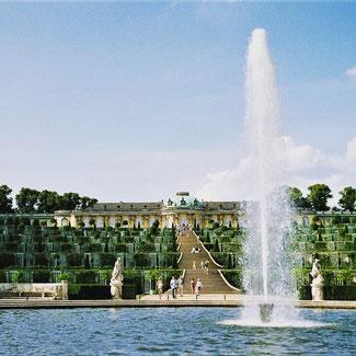 Potsdam: Schloss Sanssourci