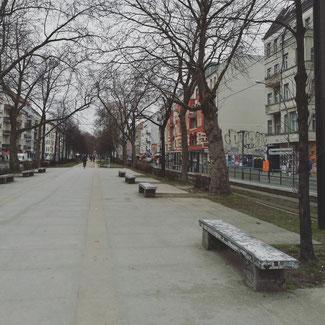 Skate spot: Benches at Warschauer Straße