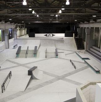 Skatepark: Skatehalle Nike SB Shelter