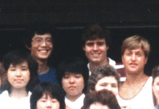 Bible Camp at Bible Institute in Kashiwazaki in August, 1982