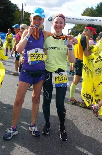 Synke nach dem Berlin Marathon