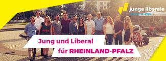 neu gewählter JuLi-Landesvorstand mit Vertretern des FDP-Bezirksverbandes Kobelnz