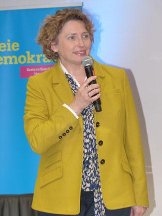 Nicola Beer, MdL, Staatsministerin a.D., Generalsekretärin der Freien Demokraten
