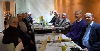 v.l.: Dr.Baum (Neuwied), Günther Bomm & Herbert Speyerer (Bendorf), Marita Baldus (Vallendar), Adolf Kölbach & Daniel Schneider (Weißenthurm), Fabian Baldus, Karin Gareis, Gerhard Gareis, Dr.Heribert Zweipfennig (Vallendar), Alexander Buda (Bezirksvors.)