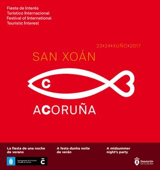 Fiestas en A Coruña Hogueras de San Juan