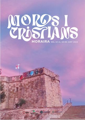 Moros y Cristianos en Moraira 2015 Programa y cartel