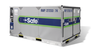 Image of CSafe RAP container – company courtesy