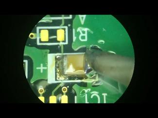 表面実装部品(SMD)の半田付け