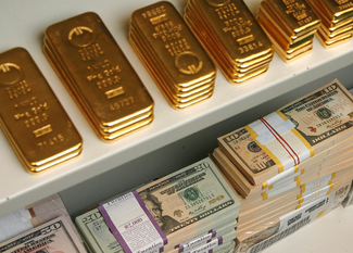 ...der Goldpreis ist in den letzten 20 Jahren um fast 600% gestiegen.
