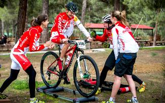 Ghost Factory Racing Team hat Spaß beim Training auf Zypern © Marius Maasewerd/EGO-Promotion