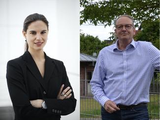 Christina Steinhausen aus Remagen und Jens Huhn aus Oberwinter bilden die FDP- Fraktion im Stadtrat Remagen.