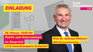 NRW-Wirtschaftsminister Pinkwart kommt in den Kreis Ahrweiler