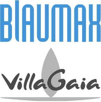 Blaumax Logo  &  Villa Gaia Logo
