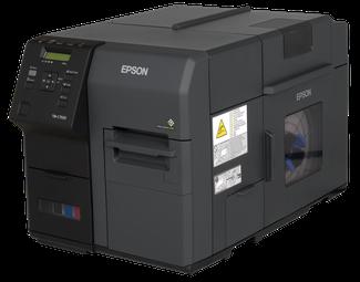 Epson C-7500 Angebot Niesel-Etikett Weihnachten Neujahr
