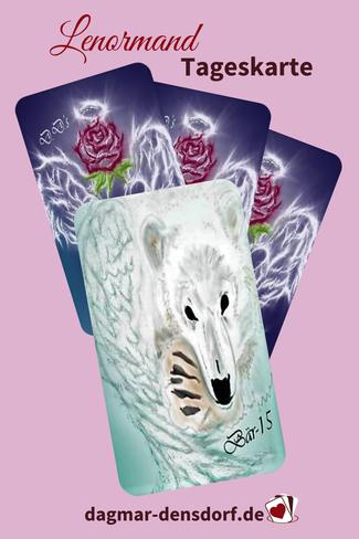 Lenormand Tageskarte Bär
