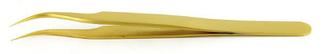 AGT5205 金めっきピンセット(カーブ)