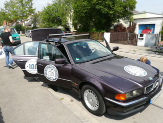 unser tolles Auto
