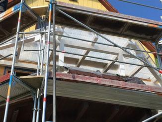 Balkonüberdachung in Binsdorf