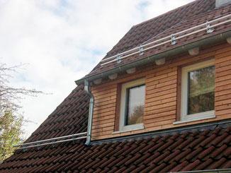 Dachgaubenverkleidung mit Holz