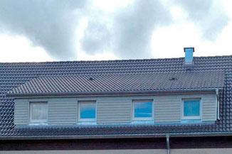 Dachgaubenverkleidung mit Holz - Holzverkleidungen