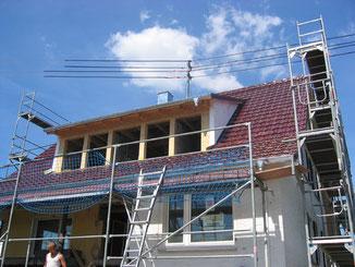 Dachsanierung und Integration von zwei Gauben