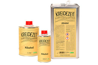 Kreidezeit Alkohol gegen Schimmel