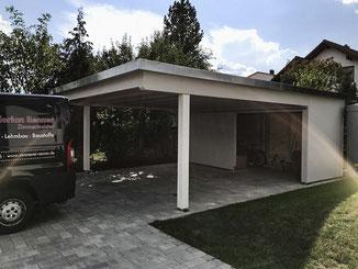 Garagen und Carports - RENNER – Holzbau · Lehmbau · Baustoffe