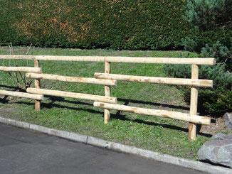 Zaun für Pferdekoppel