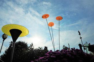 Garten Dekoration, außergewöhnlich, besonders, Geschenk, Verzierung, Akzente