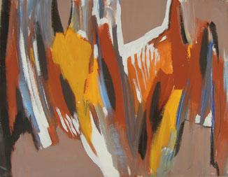 Acryl auf Leinwand, 43 x 47 cm