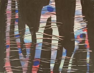 Acryl auf Leinwand, 43 x 37 cm