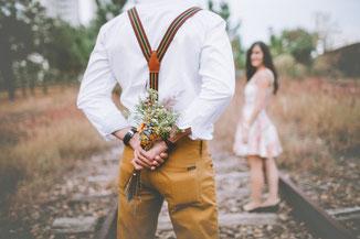 Best dressed für den Heiratsantrag mit der Hilfe von Diverse Diamonds