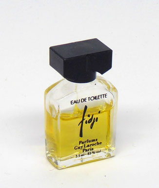 FIDJI - MINIATURE EAU DE TOILETTE 3,5 ML : DIFFERENTE DE LA PRECEDENTE PHOTO : COSPAR NON INDIQUE A LA BASE