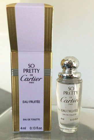 CARTIER - SO PRETTY EAU FRUITEE : EAU DE TOILETTE 4 ML