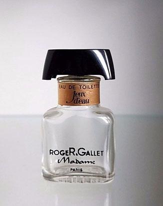 ROGER & GALLET - JEUX D'EAU MADAME : MINIATURE ANCIENNE