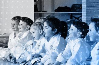 Werteorientierter Kampfkunst-Unterricht für Vorschulkinder