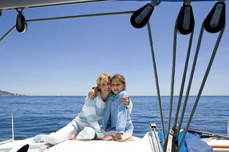 Segeltörn Familien Korfu, Mitsegelreise Ionisches Meer, Segelreise mit Skipper Lefkas