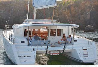 Katamaran-Segeltörn mit Skipper Athen Kykladen, Mitsegelreise Peleponnes, Katamaransegeln mit Skipper Lavrion