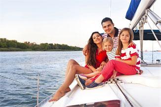 Segeltörn Familien Kykladen, Mitsegelreise Peleponnes, Segeln mit Skipper Athen, Griechenland Familiensegeln