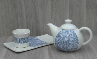 collection engobe bleu
