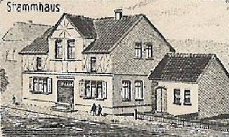 Stammhaus Christian Luther - heute Raumausstatter Joachim Luther