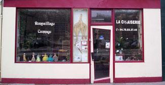 La chaiserie de Lyon, rempaillage et cannage de chaises