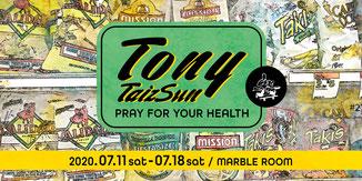 TONY, サーフ, 岡山, フォーティーファイブ, 45, マーブルルーム, MARBLE ROOM, 岡山駅前