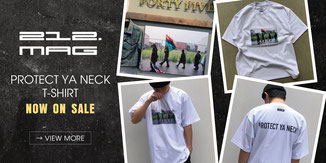 ▶︎ 212 mag PROTECT YA NECK T-Shirt / Eighty's Antiques