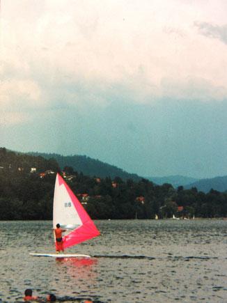 15 ans de planche à voile sur le lac de Gérardmer...