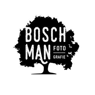 Logo ontwerp 'Boschman fotografie' studiogespuis.nl