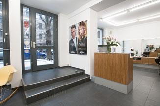 Schnittberg Friseure Eingangsbereich