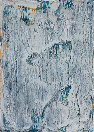 Encaustic-Bild Nr. 3.9 Papier Bienenwachs DIN A 6